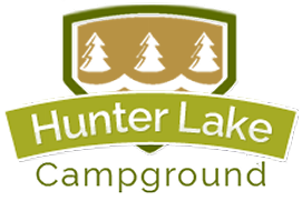 Hunter Lake Campground, Logo